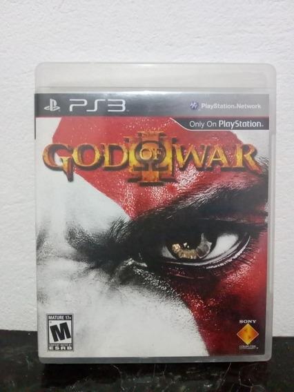 God Of War 3 Mídia Física - Ps3