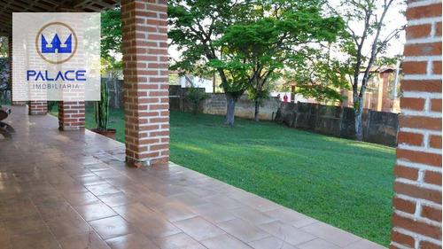 Imagem 1 de 14 de Chácara Com 3 Dormitórios À Venda, 900 M² Por R$ 450.000,00 - Aleluia - Cesário Lange/sp - Ch0084