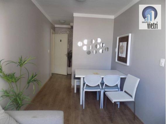 Apartamento Com 2 Dormitórios Para Alugar, 45 M² Por R$ 1.650,00/mês - Barra Funda - São Paulo/sp - Ap3962