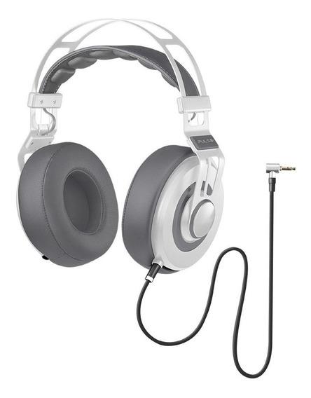 Fone De Ouvido Premium Wired Pulse Branco Ph238 Multilaser