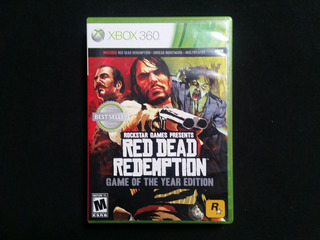Red Dead Redemption Game Of The Year Goty