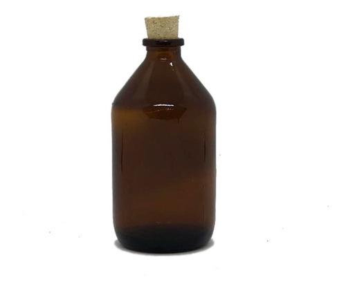 Botella Vidrio Difusor X 100 Cc Ambar C/ Corcho (x 42 Unid)