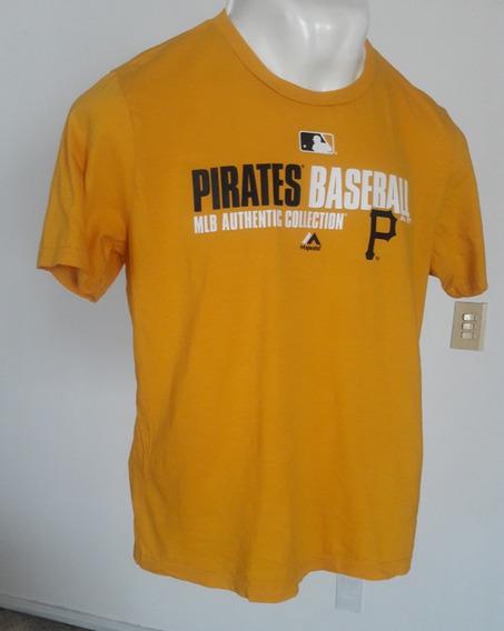 Playera Amarilla Piratas Baseball Talla-xl Jr Clave Ph1