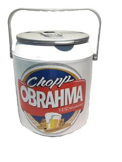 Kit 4 Coolers Caixa Térmica 10 Latas Cerveja Bud Skol Brahma
