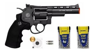 Revólver Pressão Rossi 701 Co2 4.5mm - Não Tem Ponta Laranja