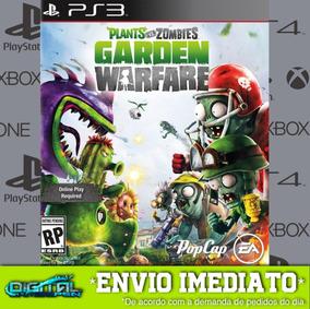 Plants Vs Zombies Garden Warfare Ps3 Midia Digital Envio Já!