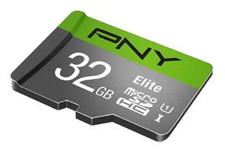 Memoria Micro Sd Pny Elite U1 32 Gb Clase 10