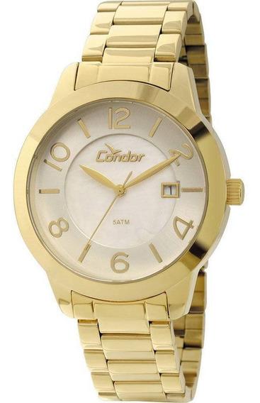 Relógio Condor Feminino Co2115tj/4b Dourado - C/ Nota Fiscal