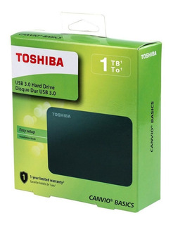 Disco Duro Externo Toshiba 1tb Canvio Basics Version 2018