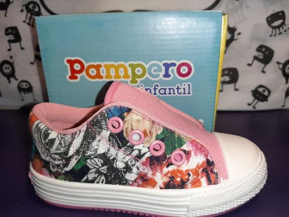 Zapatilla Elastica S/cordon Pampero Anto