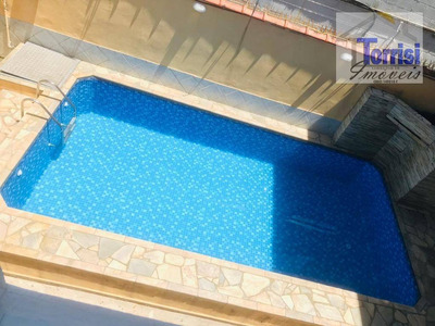 Casa De Condomínio Em Praia Grande, 02 Dormitórios. Piscina, Suna, Churrasqueira Na Guilhermina Ca0093 - Ca0093