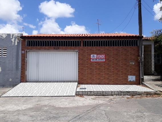 Casa Com 3 Dormitórios À Venda, 160 M² Por R$ 430.000,00 - Henrique Jorge - Fortaleza/ce - Ca1455