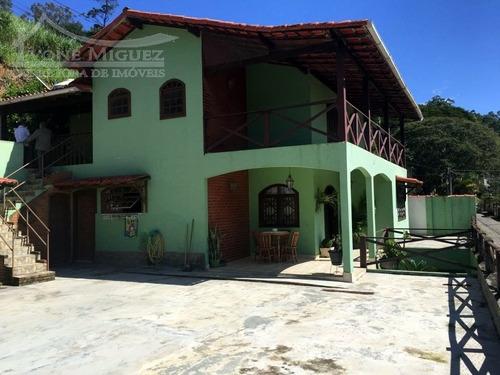 Imagem 1 de 15 de Casa 02 Pavimentos Em Governador Portela  -  Miguel Pereira - 2601