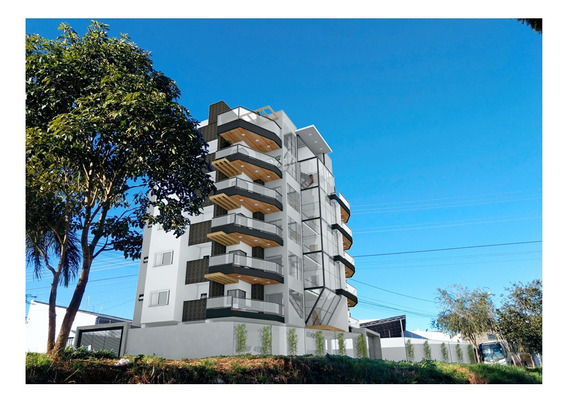 Apartamento Residencial (lançamento) A Venda No Fátima Iii, Pouso Alegre - Ap341v