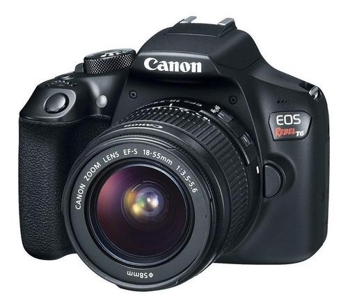 Canon EOS Rebel T6 18-55mm III Kit DSLR cor preto