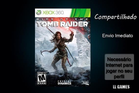 Tomb Ride Rise Xbox 360 Mídia Digital