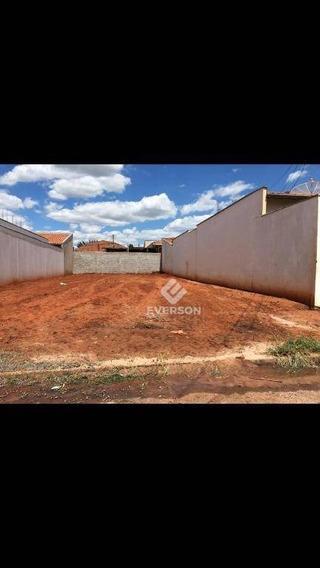 Terreno À Venda, 125 M² Por R$ 90. - Jardim Novo - Rio Claro/sp - Te0419