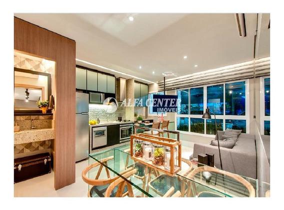 Apartamento Com 2 Dormitórios À Venda, 66 M² Por R$ 420.000 - Setor Bueno - Goiânia/go - Ap1427