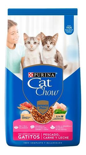 Imagen 1 de 6 de Cat Chow Gatitos Sin Colorante X 15 Kg