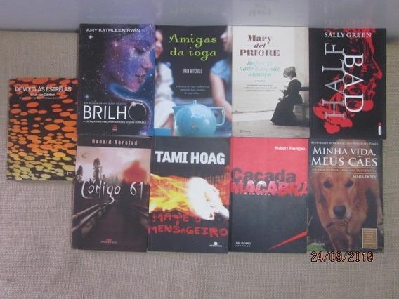 Lote 18 Livros Literatura Estrangeira Best-seller Romance
