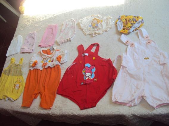 Lote 20 Pçs Roupas Bebê Menino E Menina Só 70,00