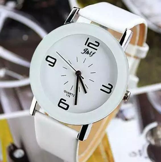 Relógio De Pulso Feminino Branco