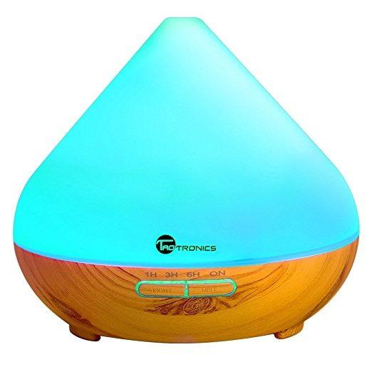 Difusores De Aceites Esenciales, Taotronics 300ml Humidifica