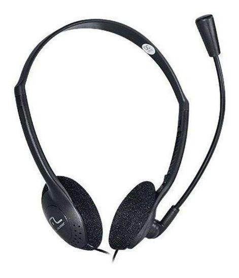 Fone De Ouvido Headset Com Microfone Stereo Ph002 Multilaser