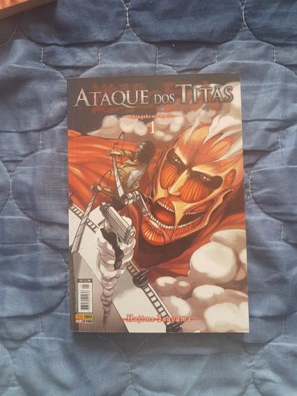 Mangá Ataque Dos Titãs (shingeki No Kyojin) V. 1,2,3,6,10,11