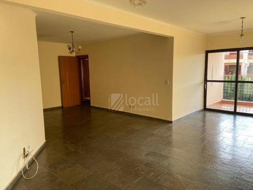 Apartamento Com 3 Dormitórios À Venda, 118 M² Por R$ 340.000,00 - Vila São Manoel - São José Do Rio Preto/sp - Ap2339