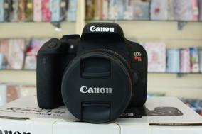 Camera Canon T7i + Lente + Bolsa + Assessorios
