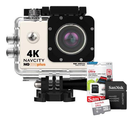 Camera Fotografica Tipo Gopro Acessorios+sandisk Ultra 16gb
