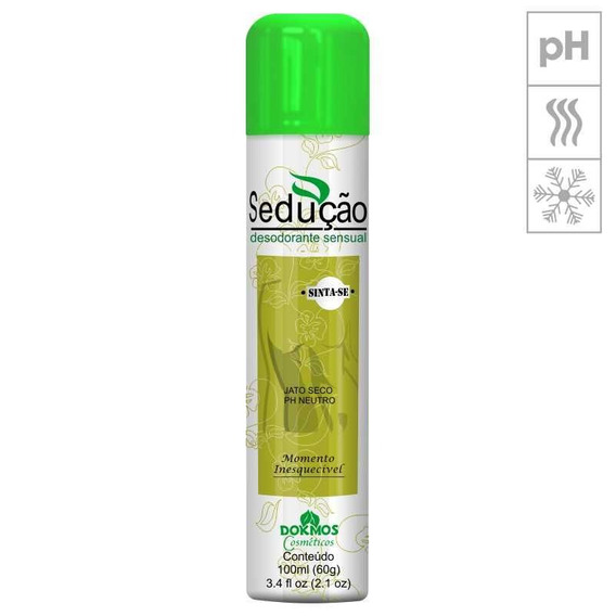 Desodorante Sensual Sedução 100ml - Pera