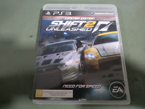 Jogo Seminovo Need For Speed Shift 2 Unleashed Ps3 Aproveite