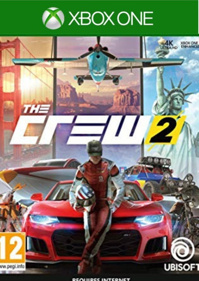 The Crew 2 Xbox One Mídia Digital Joga Online Normal