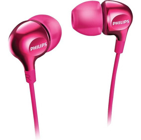 Fone De Ouvido Intra Auricular Philips She3700 Pink