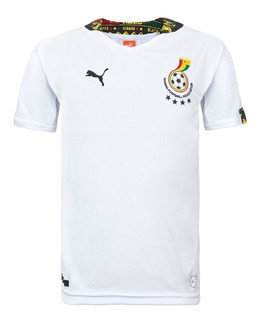 Camisa Infantil Seleção Gana Home Copa 2014 + Nota Fiscal Ctsports
