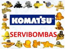 Reparacion De Bombas De Agua Automotrices Komatsu Guatemala