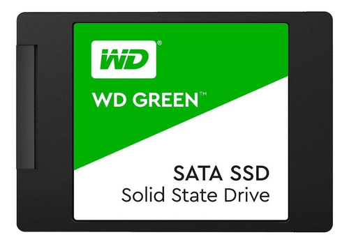Disco sólido SSD interno Western Digital WD Green WDS480G2G0A 480GB verde