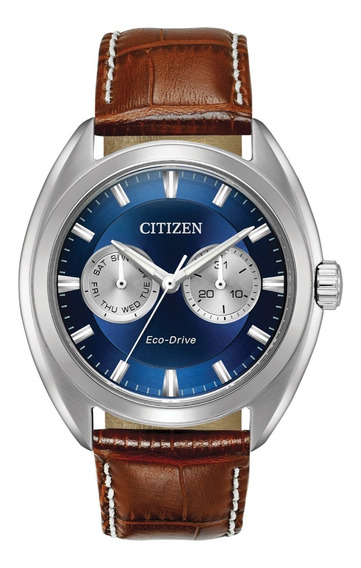 Reloj Citizen Eco-drive 44mm Cronos Cuarzo Bu4010-05l