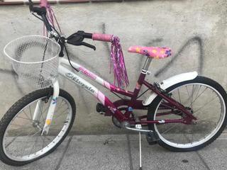 Bicicleta Infantil Para Nena Rodado 20