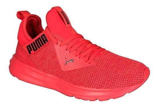 Tenis Puma Enzo Beta Woven Rojo Tallas De #26 A #30 Hombre