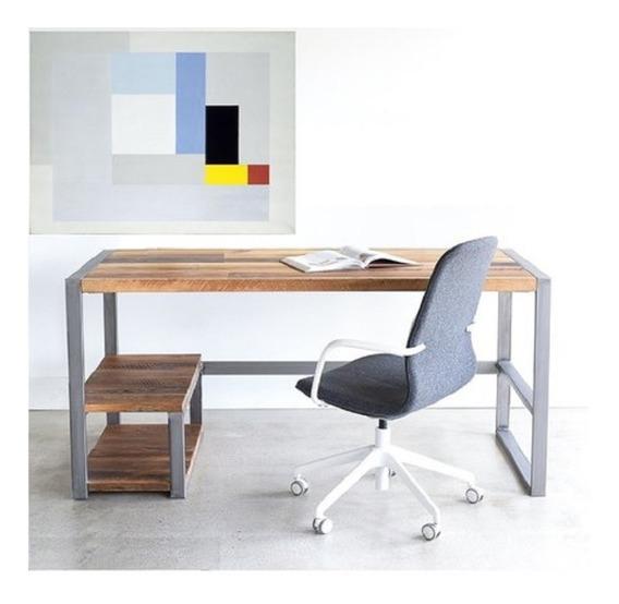 Mesa Para Escritório Diretor Estilo Industrial (150x60)