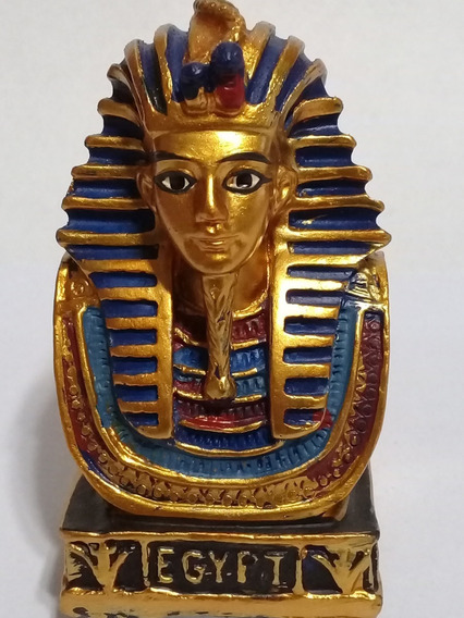 Faraon Egipcio Estatua Adorno 4x7cm