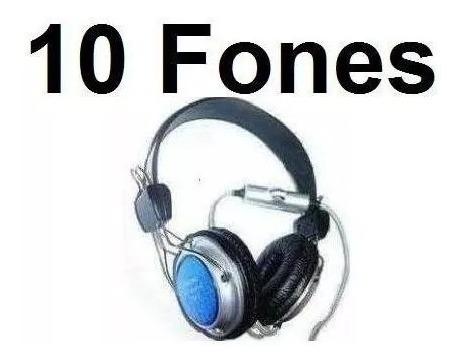 10 Fone De Ouvido Com Microfone Fancong 915mv Pronta Entrega