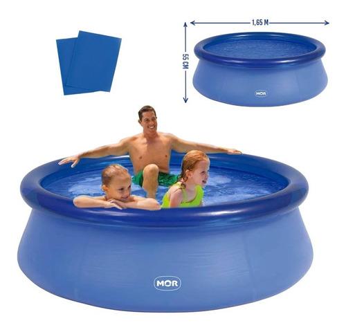 Piscina Splash Fun Redonda Inflável 1000 Litros 001048 Mor