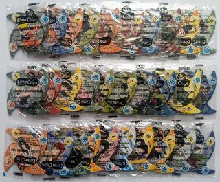 Elma Chips Tazos Completa 30 Cards Naruto Shuriken Lacrado 1