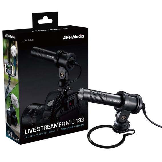 Microfone Live Streamer Mic 133 Avermedia Am133