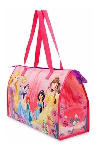 Bolsa Bolso Tipo Cartera Con Cierre Disney Store Princesas