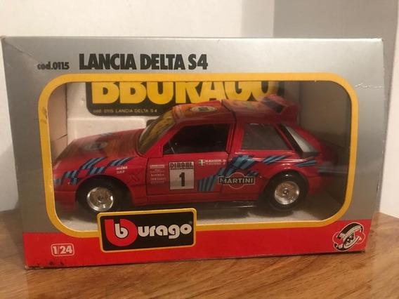 Lancia Delta S4 Categ. Rally Grupo B - Burago - Esc: 1:24